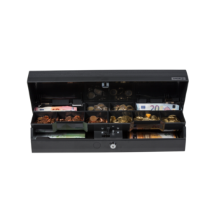 SCC+ANTHRACITE MIXED CLOSURE 8 COIN / 4 NOTE COMPARTMENTS