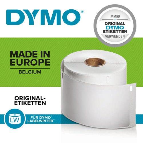 Adressetikett Dymo LabelWriter 99010 - 89 mm Breite x 28 mm Länge - Permanent Kleber - Rechteck - Thermotransfer - Weiß, S